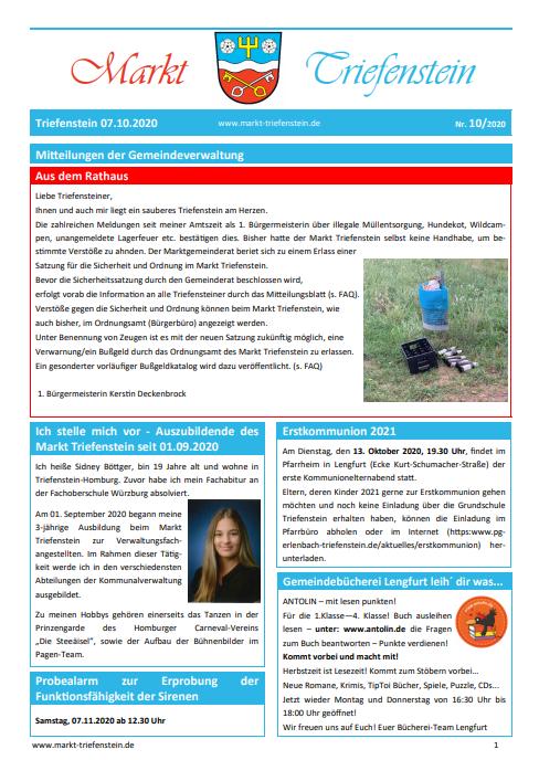 Mitteilungsblatt 10_2020